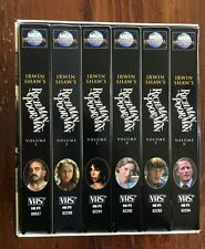 RICH MAN POOR MAN COMPLETE VHS TAPE SET 1976 ABC MINISERIES LIKE NEW RARE