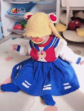 Sailor Costume Donna per Bambini Blu Navy Retrò Vestito da Mare Hen Party Costume
