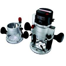 Craftsman 12-amp 2-hp Fixed/Plunge Base Router with Soft Start Technology NO TAX