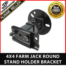 ROUND Farm jack mount stand shovel holder bracket 4X4 4WD OFFROAD ROOF LIFT
