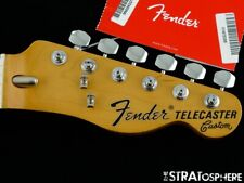 "Fender Vintera 70s RI Telecaster Custom Tele NECK + TUNERS Pau Ferro Thin ""C"""