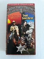 The Ranger and the Lady / Don't Fence Me In - Roy Rogers, Dale Evans (VHS) Rare