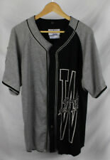 Vintage Starter Chicago White Sox Cotton Jersey Gray Black Sz L
