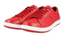 AUTHENTIC LUXURY PRADA SNEAKERS SHOES 4E2939 RED NEW US 8 EU 41 41,5