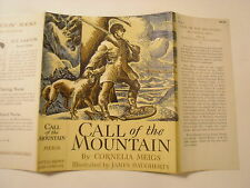 Call of the Mountain, Cornelia Meigs, James Daugherty, Dust Jacket Only