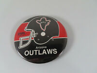 1982 USFL Arizona Outlaws Football Pinbacks
