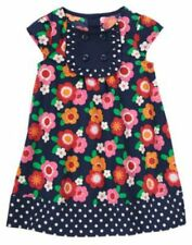 NWT 3-6 Months Gymboree SMART LITTLE LADY Navy Polka dot Floral Dress