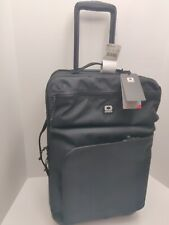 NEW OGIO Alpha Core Recon 322 Travel Bag Luggage Suitcase Carry On Wheeled Black