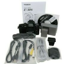 NIB - OLYMPUS E-M5 (OM-D) 16 MP Mirrorless 1080 HD Digital Camera - Body Only