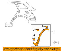 MAZDA OEM 07-15 CX-9 Fender-Wheel Flare Molding Right TD1151W50H