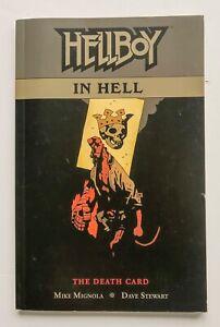 Hellboy In Hell The Death Card Vol 2 Mignola Dark Horse Graphic Novel Comic Book