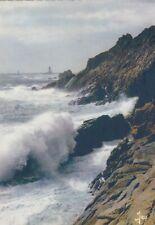 Bretagne, Grosse mer à la Pointe du Raz ngl F1680