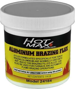 Welding Aluminum Brazing Flux Formulated Specifically For Torch Brazing Aluminum