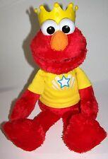 Playskool Sesame Street Let's Imagine Interactive Elmo Plush Doll with Crown