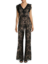 ALEXIS 'Sibyle' Jumpsuit (S) $682 - NWT SOLD OUT - Black Floral Lace