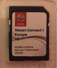 GENUINE NISSAN CONNECT 1 SAT NAV LCN1 LATEST SD CARD V8 2017 / 2018 MAPS