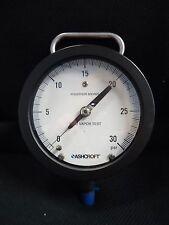 Ashcroft Reid Vapor Test, 0-30 psi, Phosphor Bronze