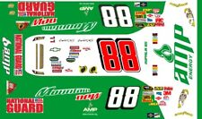 #88 Dale Earnhardt jr. Mountain Dew 2008 1/32nd Scale Slot Car Decals