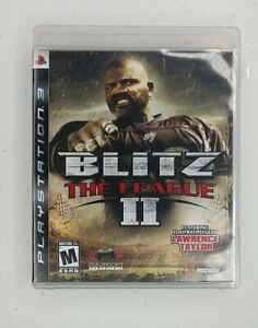 Blitz: The League II (Sony PlayStation 3, 2008) Tested Work Great!