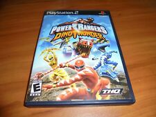 Power Rangers: Dino Thunder (Sony PlayStation 2, 2004) Used Complete PS2