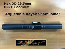 Kayak Paddle Adjuster Kit, Make a 2 Pc / Piece Shaft angle & length Adjustable