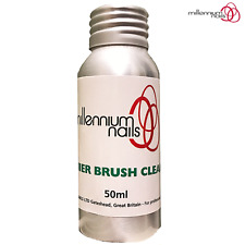 Millennium Nails 50ml Acrylic Brush Cleaner- Removal Acrylic/Uv Gel From Brushes