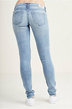 NWT True Religion Sz W28 Skinny  BIG T NATURALINE JEAN $249.00