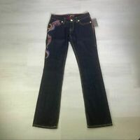 New! Coogi Women's Embroidered Denim Jeans