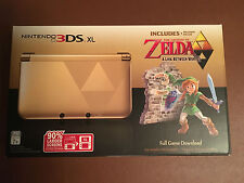 Nintendo 3DS XL The Legend of Zelda Limited Edition with Super Smash Bros 3ds