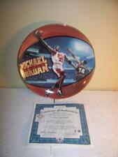 Michael Jordan Upper Deck His Airness 5 Time MVP Plate