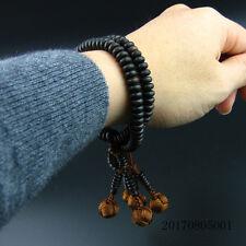 Japanese Nichiren SGI Buddhist Wrist Juzu malas black sandalwood high quality