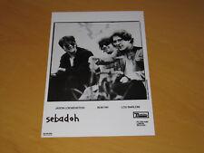 SEBADOH - ORIGINAL UK PROMO PRESS PHOTO (X)