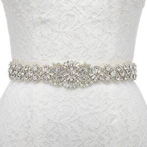 Wedding Bridal Sash Crystal Rhinestone Dress Sash Prom Dress Sash Wedding Belt