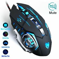 Gaming Mouse 3200 DPI Adjustable Gamer Wired Optical LED Computer Mice