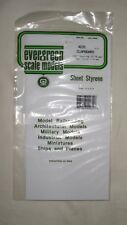 "Evergreen Sheet Styrene Clapboard Siding .040"" Thick .030"" Spacing  Item #4031"