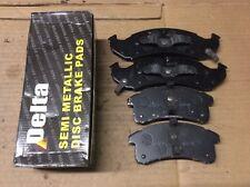 New Delta 762-D505 Semi Metallic Disc Brake Pad Pads