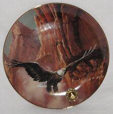 Collector's Plate Soaring Spirit Bald Eagle