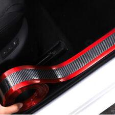 Carbon Fiber Car Sticker Bumper Guard Decal Door Plate Sill Scuff Anti Scratch