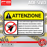 Adesivi Stickers Pegatinas MUTANDINE TANGA ATTENZIONE WARNING STRIP MOTO BIKE 8c