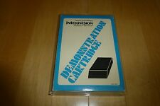 Intellivision - BLUE Demonstration Cartridge Complete In Box CIB