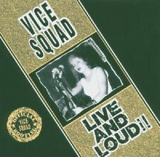Vice Squad Live And Loud CD NEW SEALED Punk Last Rockers/Stand Strong, Proud