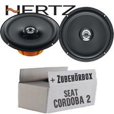 Hertz Lautsprecher für Seat Cordoba 2 6L 16cm Koax Boxen Auto Set Front Heck Tür