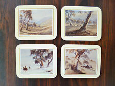 4 Pimpernel Coasters  Alan Grosvenor Snowy Valley to Thredbo Mountain Pasture