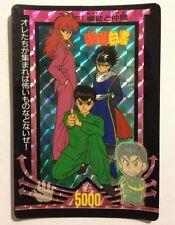 Yu Yu Hakusho PP CARD Prism 1