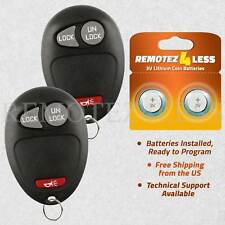 2 For 2004 2005 2006 2007 2008 Gmc Colorado Keyless Entry Remote Car Key Fob