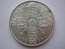 1919 George V silver Florin, GEF.