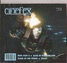 Cinefex #122 Iron Man 2 Alice In Wonderland Clash Of The Titans Splice