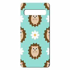 For Samsung Galaxy S10 Silicone Case Hedgehog Pattern - S2253