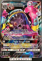 Carte Pokemon GROTADMORV 84/147 Holo GX Soleil et Lune 3 SL3 FR NEUF