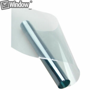 75%VLT Light Blue Window tinting Film Nano Ceramic Solar Tint car Foils 0.5m*2m